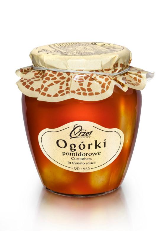 Ogórki Pomidorowe firmy Orzeł Polska